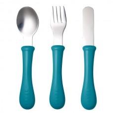 BEABA набор детский - ложка, вилка, нож