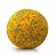 Чехол для воздушного шарика (3+) BubaBloon Кружочки (жёлтый)
