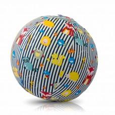 Чехол для воздушного шарика (3+) BubaBloon Животные (в голубую полоску)