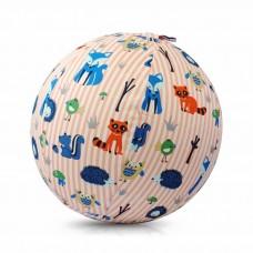 Чехол для воздушного шарика (3+) BubaBloon Животные (в розовую полоску)