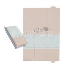 Пеленальный матрац Ceba Baby 40х60 для путешествий