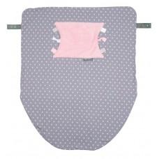 Многофункциональный плед Cheeky Chompers Cheeky Blanket розовый горошек