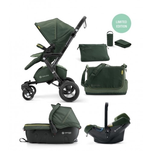 Коляска 3 в 1 Concord Neo Travel Set Special Edition Jungle Green 2016