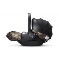 Автокресло Cybex Cloud Q FE Butterfly с солнцезащитным капюшоном для Priam