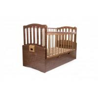 Кроватка Daka Baby Укачай-ка 03 Орех