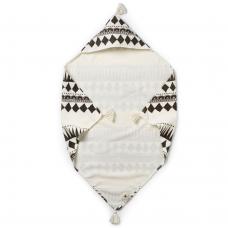 ELODIE DETAILS полотенце с капюшоном после купания Graphic Devotion