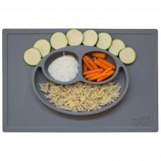 Тарелка ezpz - Happy Mat