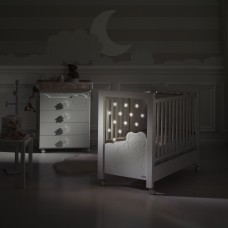 Кровать 120x60 Micuna Dolce Luce Relax с LED-подсветкой