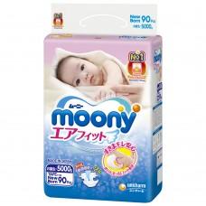 Подгузники  Moony Муни   до 5 кг.  90 шт. (NB)
