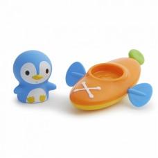 Munchkin игрушка для ванны пингвин в лодке 18+