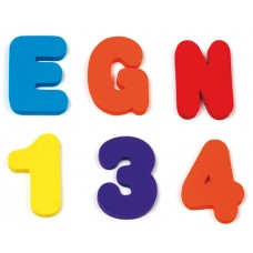 Munchkin игрушка для ванны Буквы и Цифры от 24мес