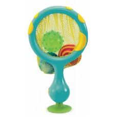 Munchkin игрушка для ванны 2 в 1 кольцо с мячиками брызгалками 12+