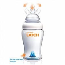 LATCH munchkin бутылочка для кормления 120 мл. 3шт. соска 0+