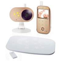 Видеоняня с монитором дыхания Ramili Baby RV1200SP