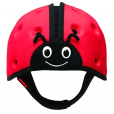 Мягкая шапка-шлем для защиты головы ТМ SafeheadBABY Божья коровка