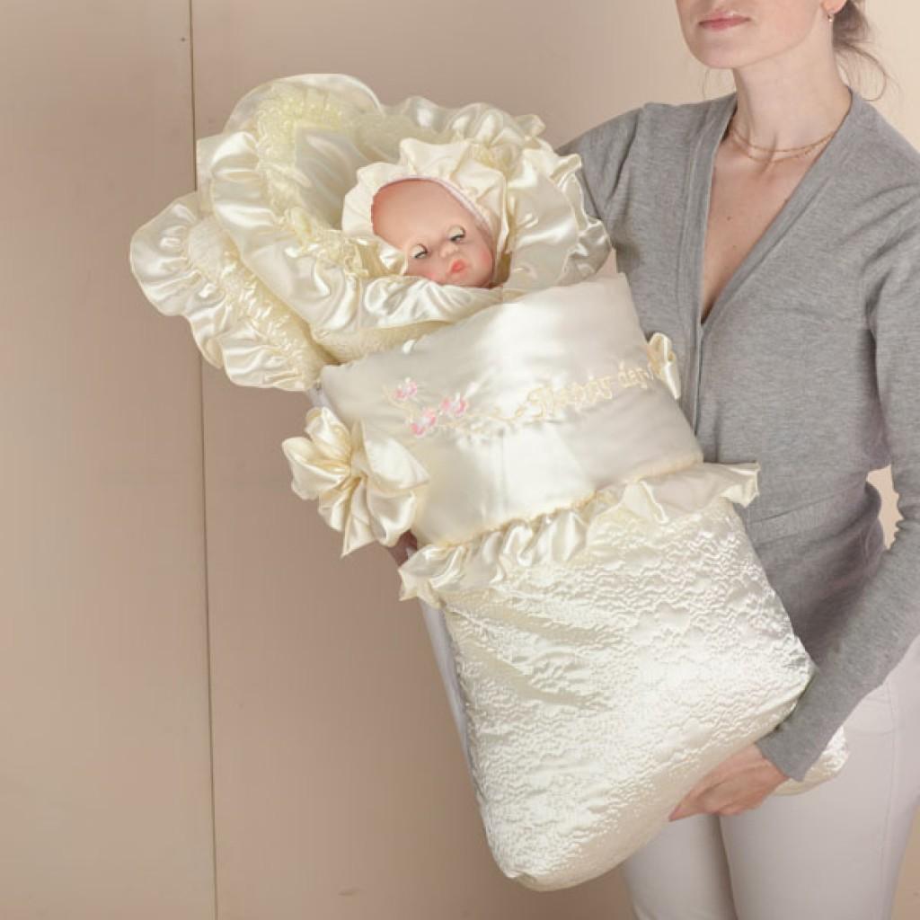 Летнее одеяло на выписку своими руками с выкройками фото