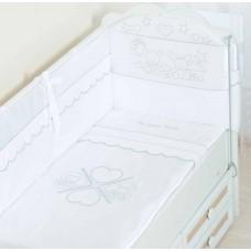 """Комлект постельного белья для новорожденного """"Друзья"""""""