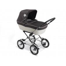 Детская коляска трансформер Silver Cross Sleepover Elegance Cream