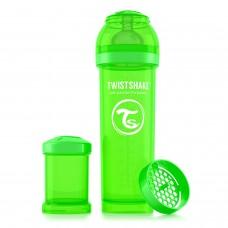 Антиколиковая бутылочка Twistshake для кормления 330 мл