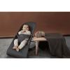 Кресло-шезлонг BabyBjorn Bliss Cotton Антрацит в комплекте с игрушкой