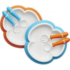 BABYBJORN комплект (2 тарелки, 2 ложки, 2 вилки )