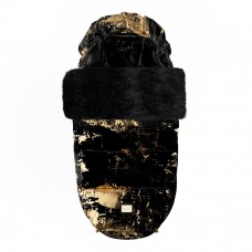 Зимний конверт Footmuff Bjallra Black Golden