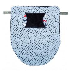 Многофункциональный плед Cheeky Chompers Cheeky Blanket синие звезды