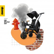 Набор наклеек на велосипед Liki/ B&W Cool Sketch