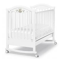 Кроватка Erbesi Amour (Амур) белый (white/bianco)