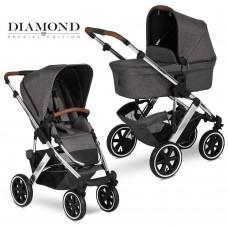 Коляска 2 в 1 FD-Design Salsa 4 AIR Diamond asphalt