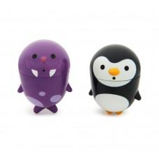 Munchkin игрушки для ванны пингвин и морж  9+