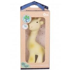 Игрушка из каучука Tikiri Жираф в подарочной упаковке