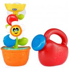"""Chicco игрушка для ванны """"Лейка с цветком"""" 12м+"""