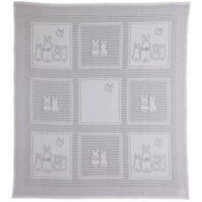 Myb плед Bunny Squares 76х102см