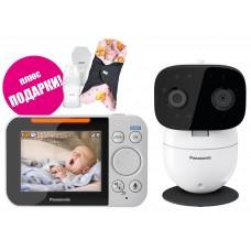 Видеоняня Panasonic KX-HN3001 плюс подарки Ramili Baby