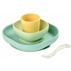 Набор посуды их 4х предметов Beaba