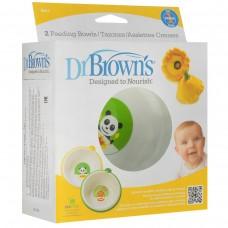 "Набор детских тарелок ""Dr. Brown's"", диаметр 14 см, 2 шт"