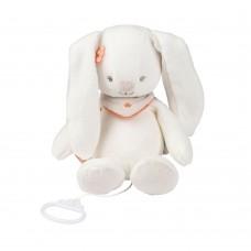 Игрушка мягкая Nattou Musical Soft toy (Наттоу Мьюзикал Софт Той) Mia & Basile Кролик музыкальная 562041
