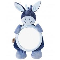 Игрушка мягкая Nattou Зеркало Mirror for car (Наттоу) Alex & Bibou Ослик и Кролик 321334