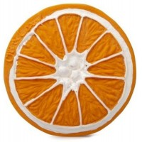 Игрушка для купания и прорезыватель для зубов Oli&Carol Апельсин Клементино (L-C ORANGE-UNIT)