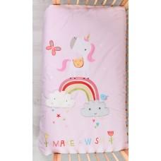 Одеяло Bizzi Growin (Биззи Гровин) Rainbow and Unicorns 120*100 BG001