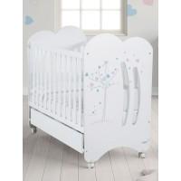 Кровать Micuna Aura (Микуна Аура) 120*60 white