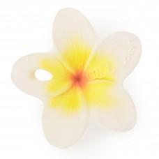 Прорезыватель Oli and Carol Chewy-to-Go Цветочек Гавая 6,5 см., натуральный каучук