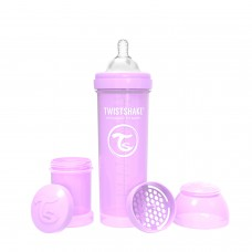 Антиколиковая бутылочка Twistshake Pastel для кормления 330 мл.