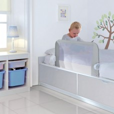 Munchkin Lindam бортик защитный для кровати на метал. каркасе с тканью 95 см серый