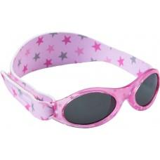 Dooky- BabyBanz очки солнцезащитные Pink Star 0-2 г