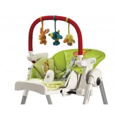 Развивающая дуга с игрушками Peg-Perego Play Bar High Chair