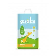 Подгузники Lovular Giraffe M (6-11кг) 62 шт/уп