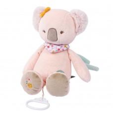 Игрушка мягкая Nattou Musical Soft toy (Наттоу Мьюзикал Софт Той) Iris & Lali Коала музыкальная 631051
