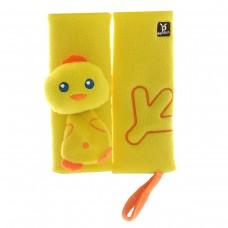 """Накладка для ремня безопасности BenBat """"Цыпленок"""", 0-12 месяцев, цвет желтый"""